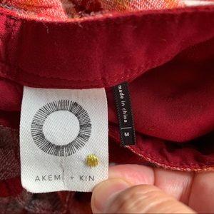 Anthropologie Tops - Anthro Akemi + Kin Plaid Long Sleeve Tunic Dress